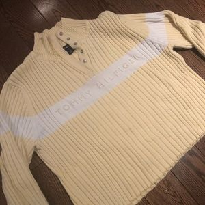 Pastel Yellow Tommy Hilfiger Knit Long Sleeve 💛